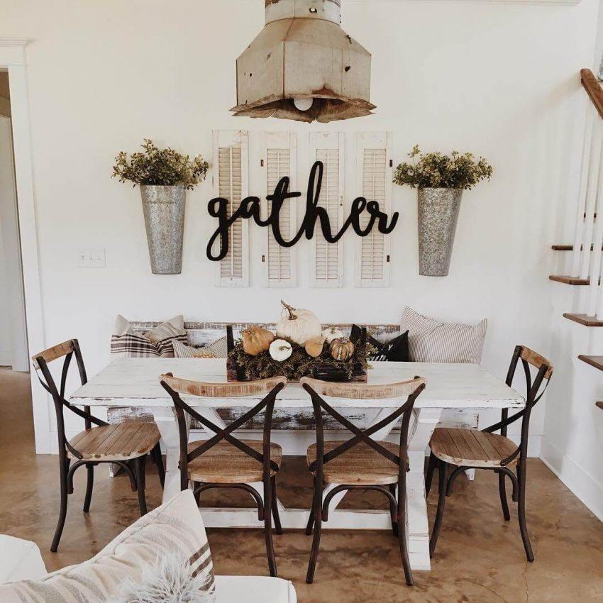 DIY Dining Room Wall Décor Ideas - Harptimes.com