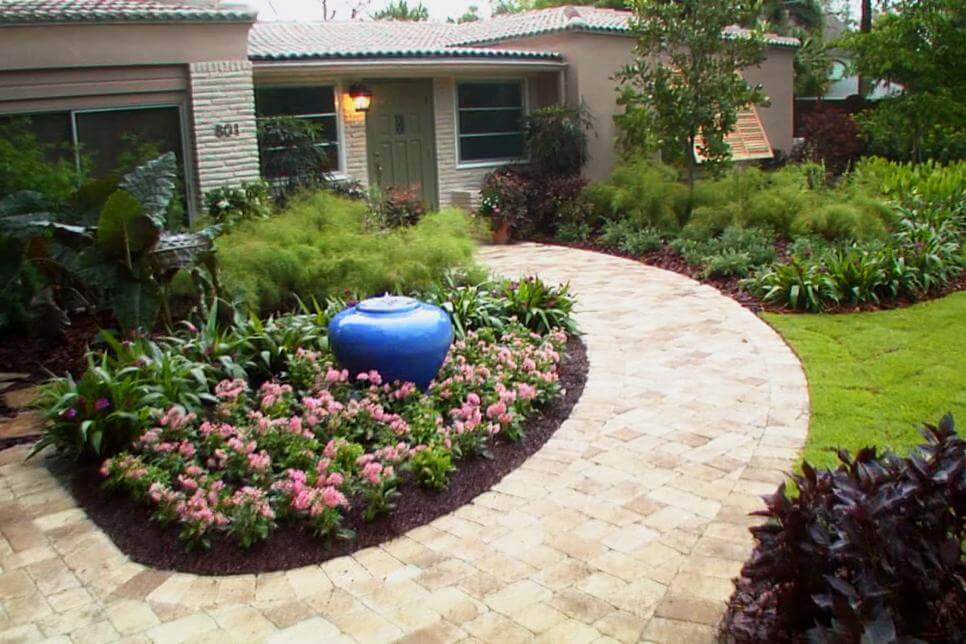 Front Yard Landscaping Ideas - Keep Being Simple yet Delightful- Harptimes.com