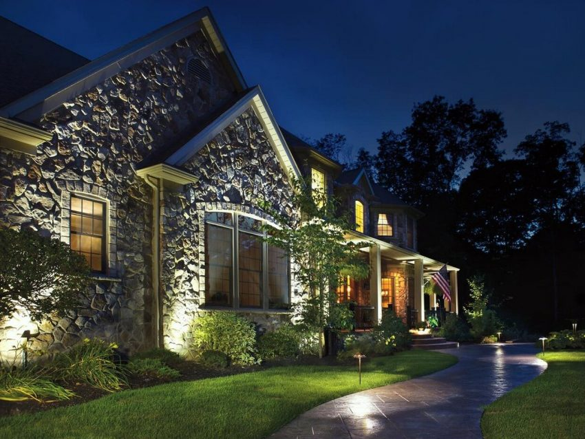Modern Front Yard Landscaping Ideas - Light Up Your Front Yard - Harptimes.com