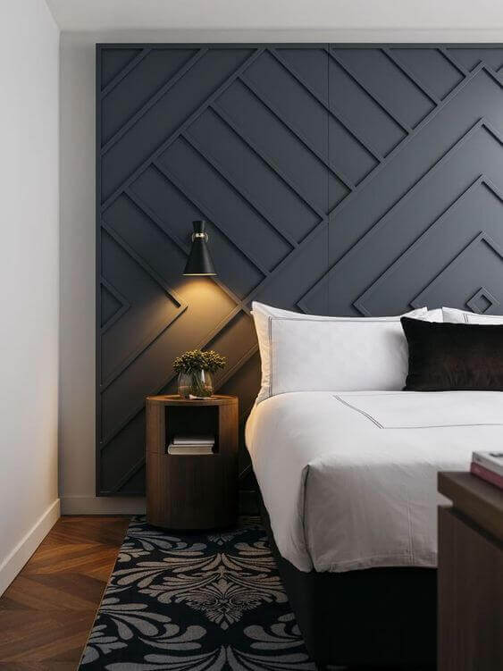 Awesome Grey Accent Wall Ideas Master Bedroom