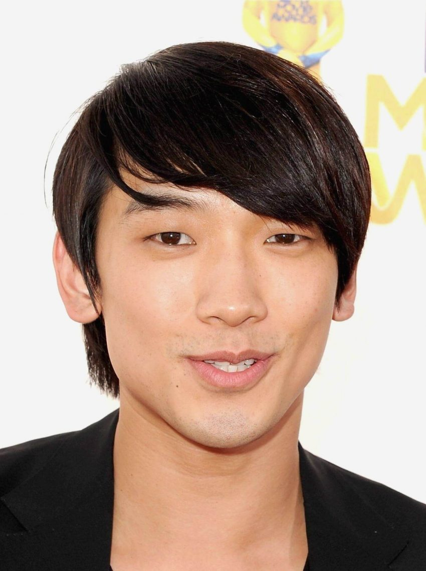 Asian Hairstyles Men Razor Style Shag Like Rain - Harptimes.com