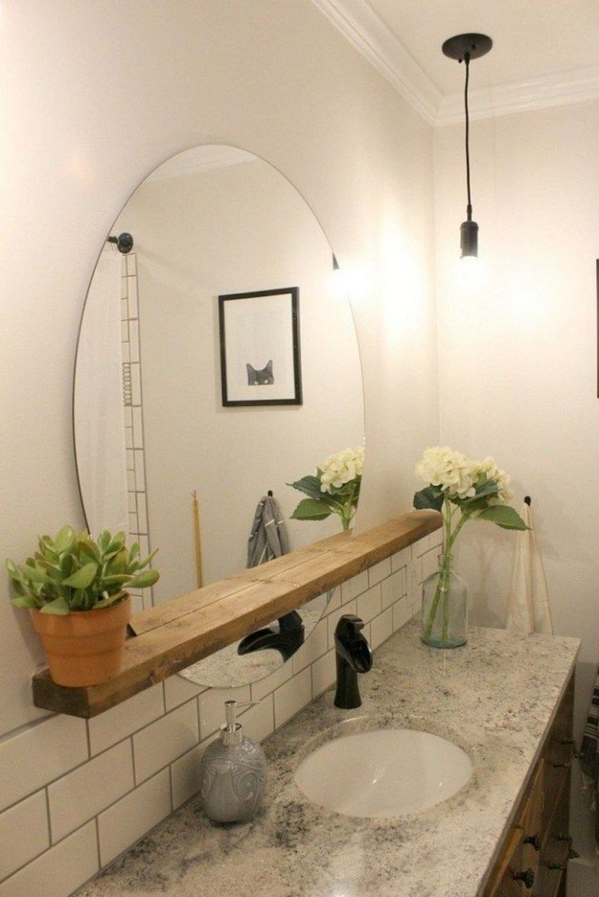 17. Bathroom Mirror Ideas with the Touch of Natures - Harptimes.com