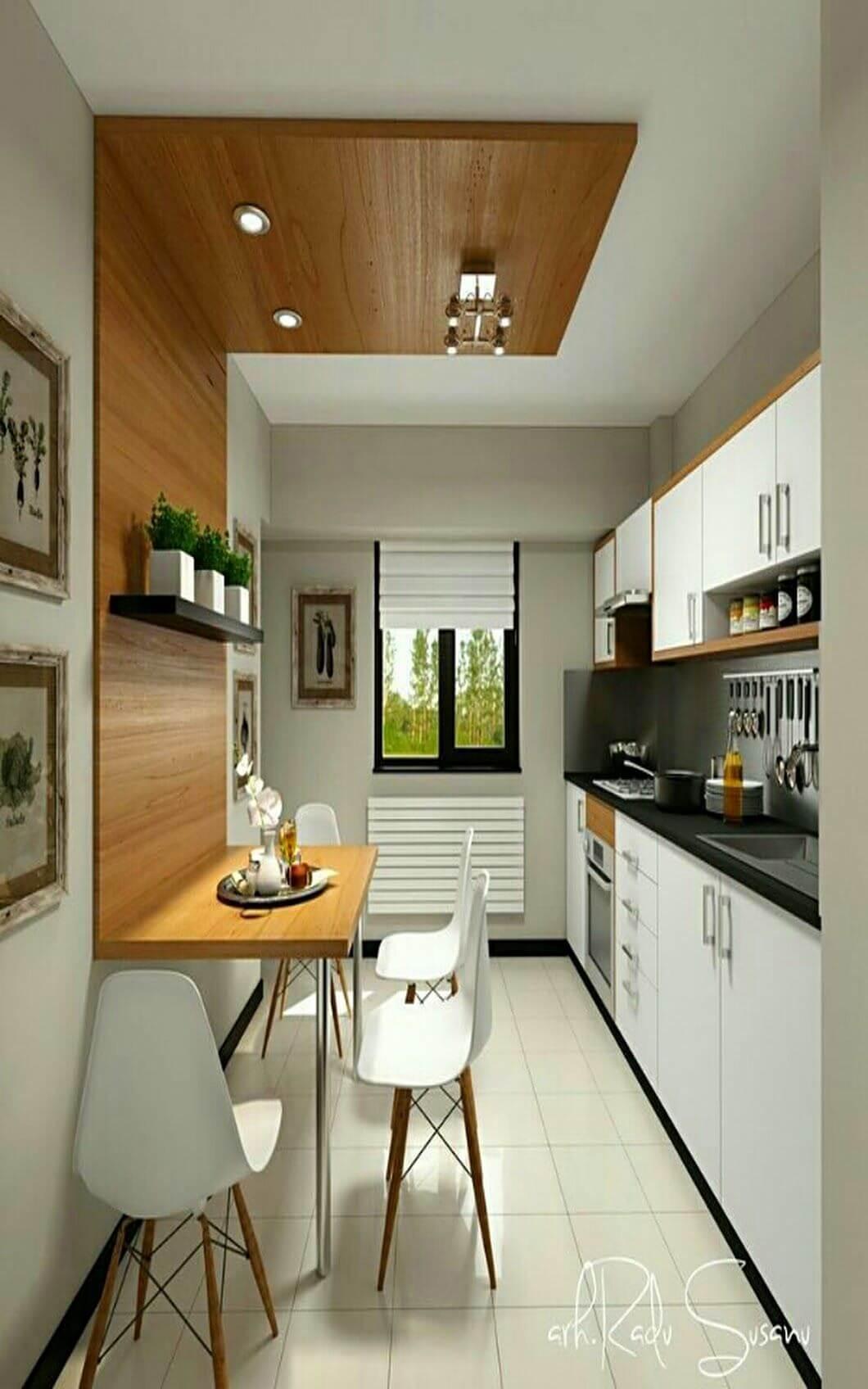 kitchen decor ideas diy - 1. Kitchen Decor Ideas in Apartment - Harptimes.com