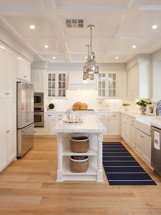 country kitchen decor ideas - 20. Unique Kitchen Island Dimensions - Harptimes.com