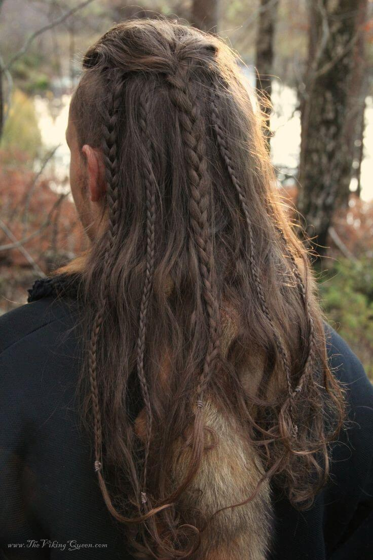 Long Braids Hairstyles for Men - Harptimes.com