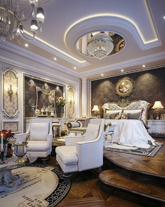 master bedroom ideas modern - 1. Tremendous Luxury Master Bedroom Design - Harptimes.com