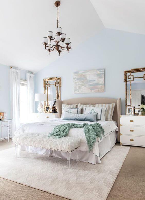 master bedroom ideas pinterest - 20. Light Blue Master Bedroom Ideas - Harptimes.com