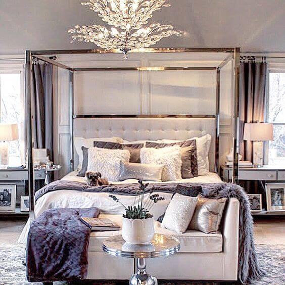 11. Luxurious Decor for Master Bedroom Ideas - Harptimes.com