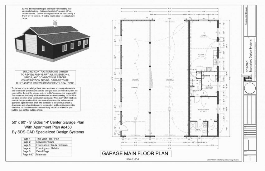 Modern Barndominium Floor Plans 2 Story With Loft [30x40