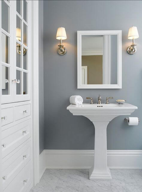 Bathroom Color Paint Ideas No-Window Bathroom Color Ideas - Harptimes.com