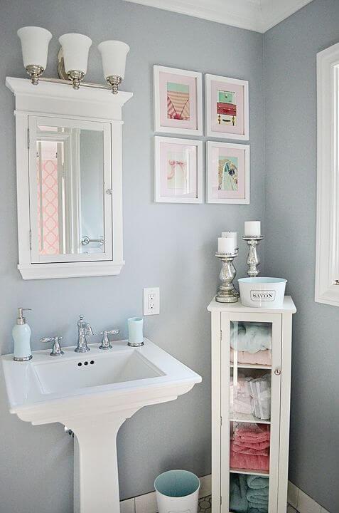 Bathroom Color Paint Ideas Stunning Small Bathroom Color - Harptimes.com