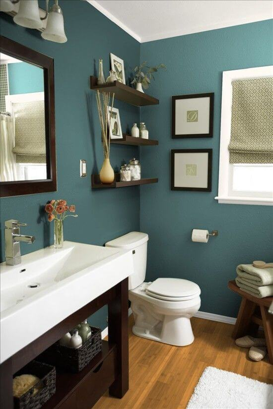 Bathroom Color Paint Ideas Teal Paint Bathroom Color - Harptimes.com