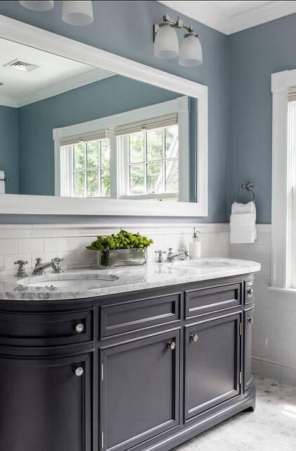 Bathroom Color Paint Ideas Wedgewood Gray Bathroom Wall Color - Harptimes.com