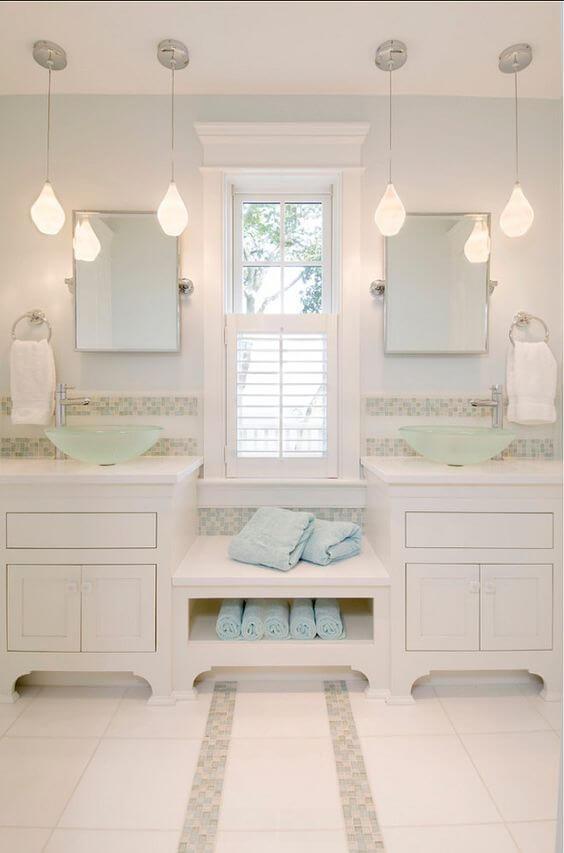 Bathroom Lighting Ideas Beautiful Hanging Light Fixtures for Bathroom - Harptimes.com