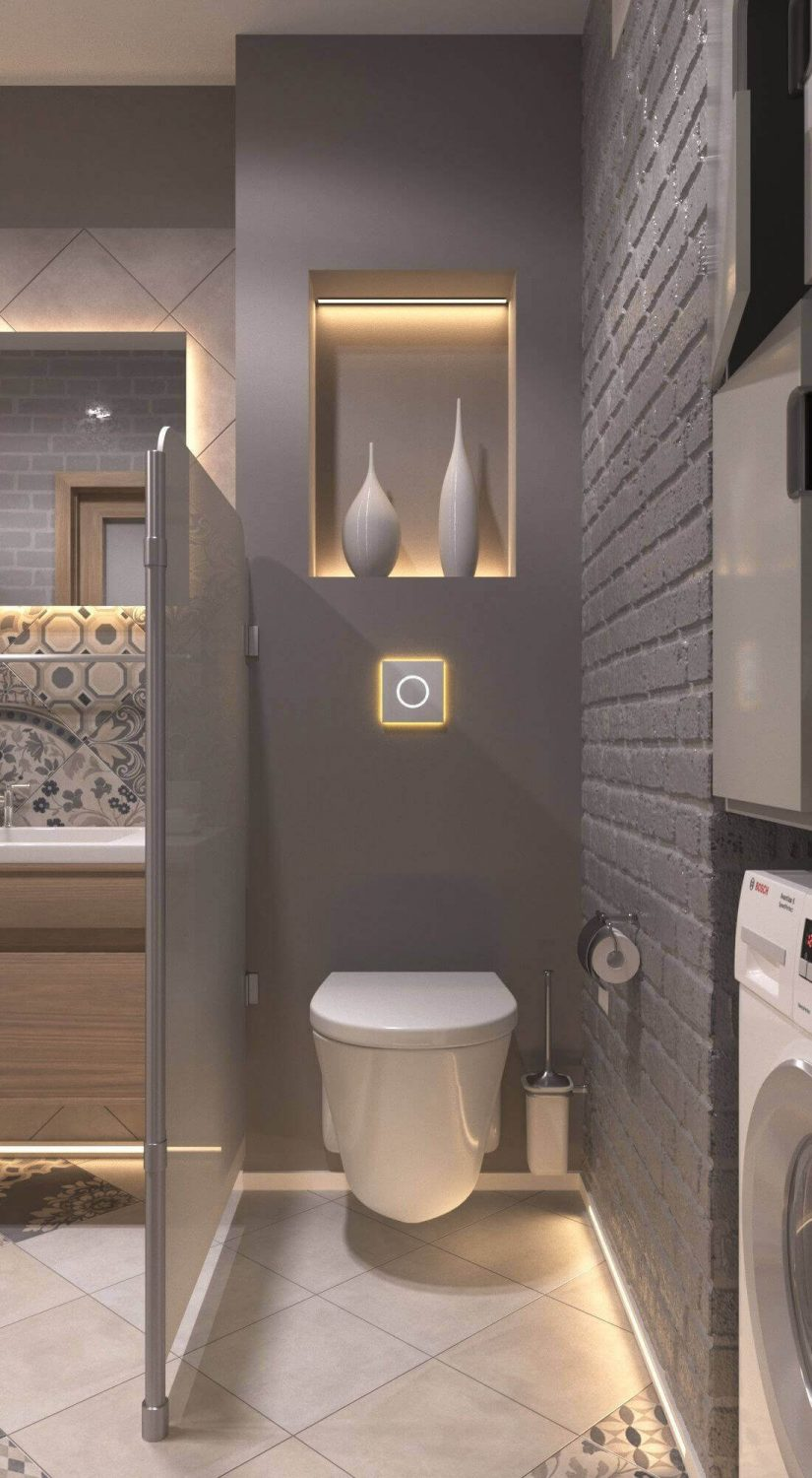 Bathroom Lighting Ideas LED Indirect Lighting In-Wall Niches - Harptimes.com