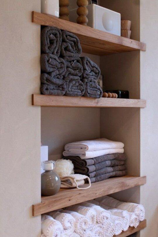 Bathroom Storage Ideas Large Towel or Linen Storage - Harptimes.com