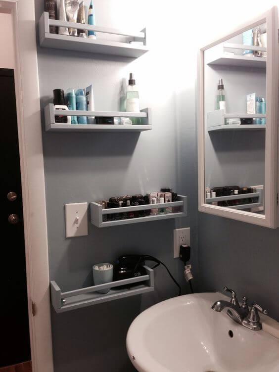 Bathroom Storage Ideas Pedestal Sink Storage Ideas - Harptimes.com