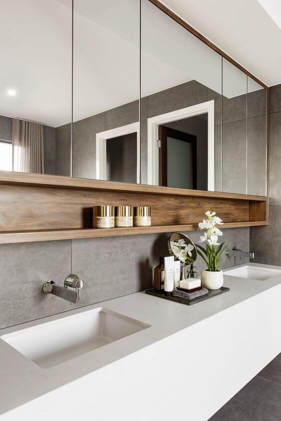 Bathroom Storage Ideas Storage under the Mirror - Harptimes.com