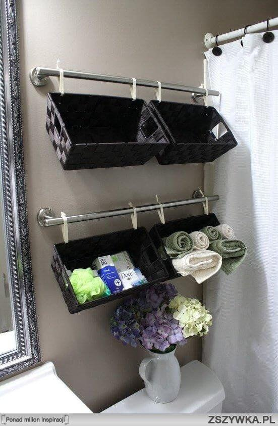 Bathroom Wall Decor Hanging Baskets over the Toilet - Harptimes.com