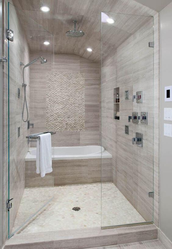 Big Walk-In Shower Master Bathroom Ideas - Harptimes.com