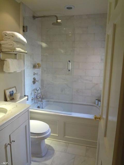 Guest Bathroom Ideas European Minimalist Style - Harptimes.com