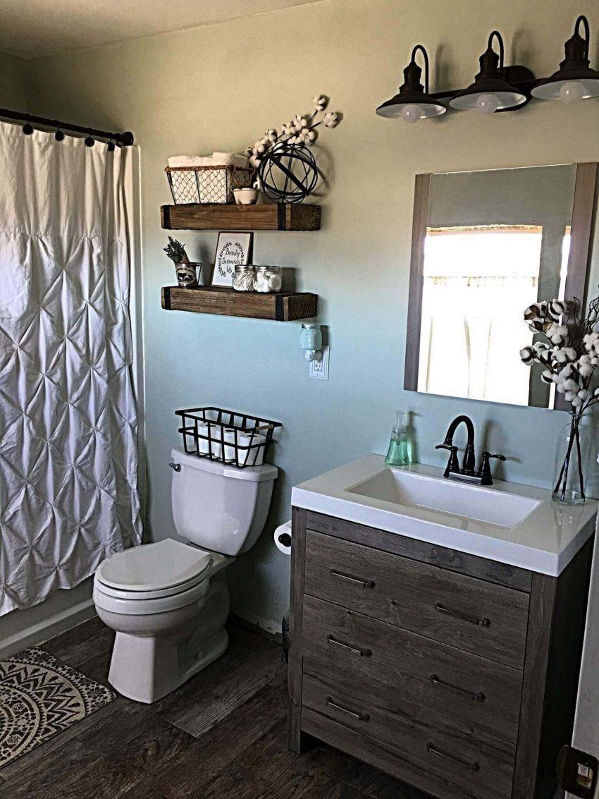 Guest Bathroom Ideas Farmhouse Small Bathroom Design - Harptimes.com