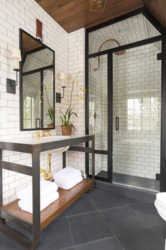 Guest Bathroom Ideas Modern Subway Tile for Bathroom - Harptimes.com