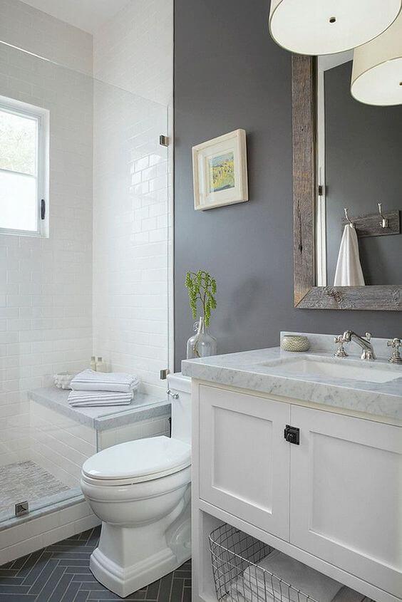 Guest Bathroom Ideas Rustic Makeover for Modern Bathroom - Harptimes.com