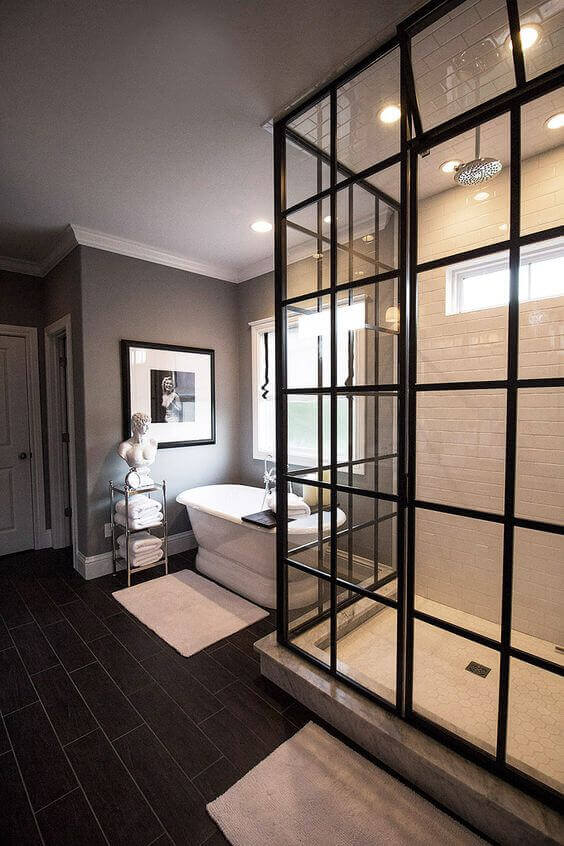 Master Bathroom Ideas Walk-In Shower with Modern Appeal - Harptimes.com