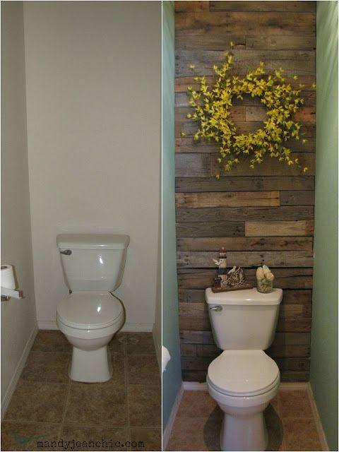 Rustic Bathroom Ideas Easy Rustic Bathroom Makeover - Harptimes.com
