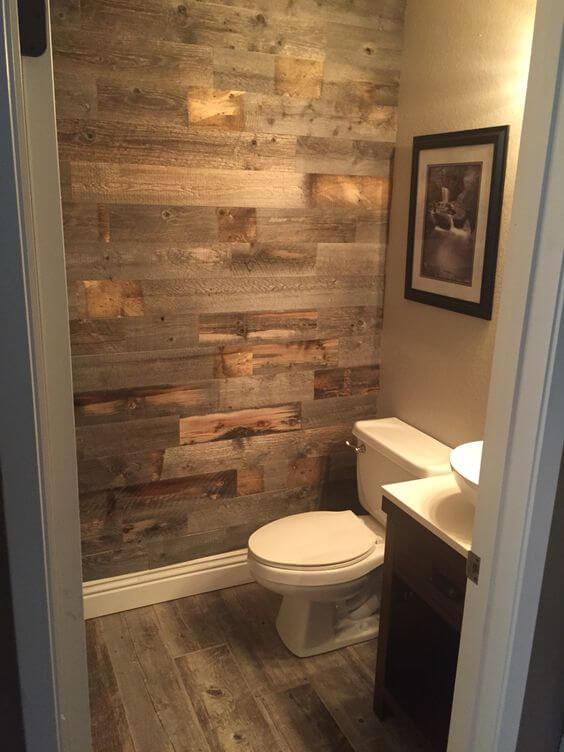 Vinyl Flooring On Bathroom Walls Rustic Bathroom Ideas - Harptimes.com