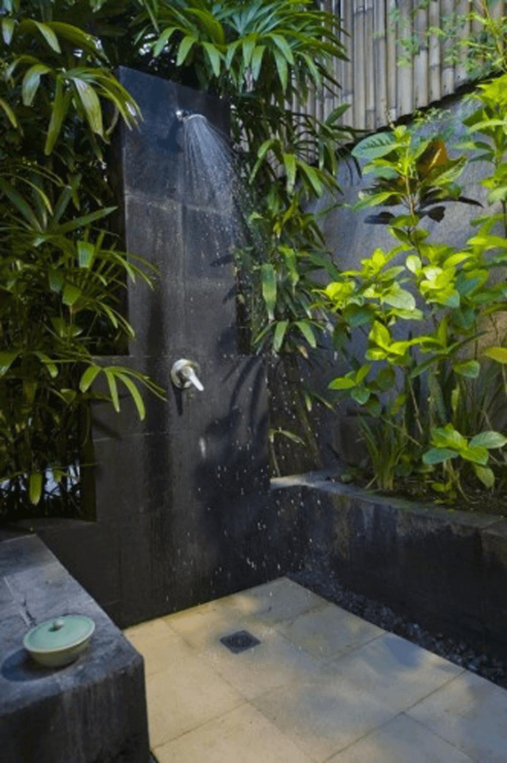 Outdoor Shower Ideas Botanical Outdoor Bathroom Design - Harptimes.com