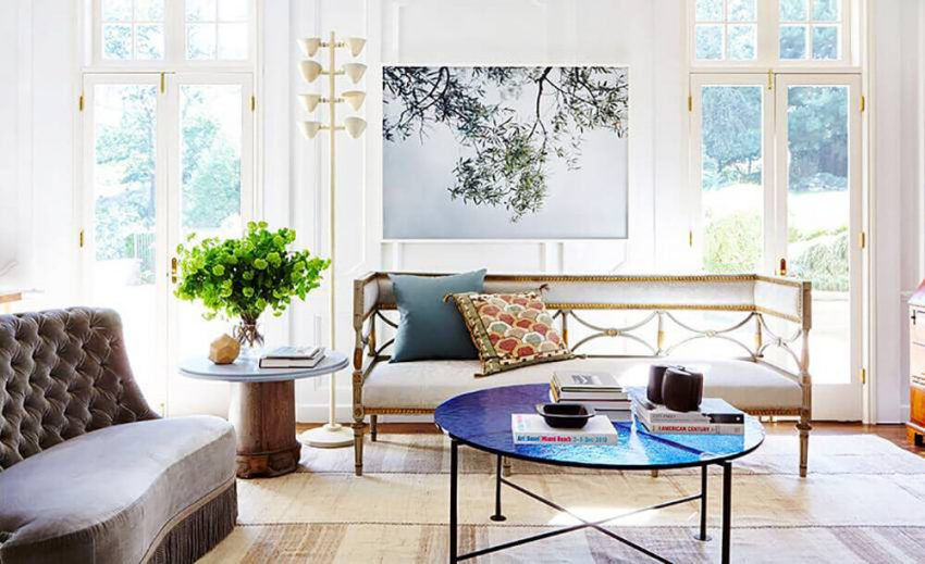 Additional Antique Element to Living Room Decor Ideas