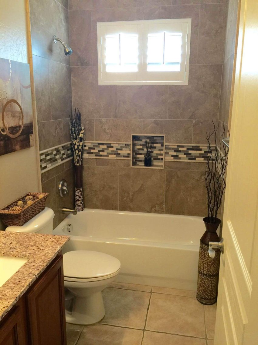 Small Basement Bathroom Ideas on a Budget by Harptimes.com