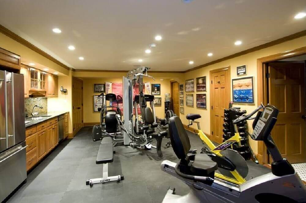 Basement Ideas Home Gym