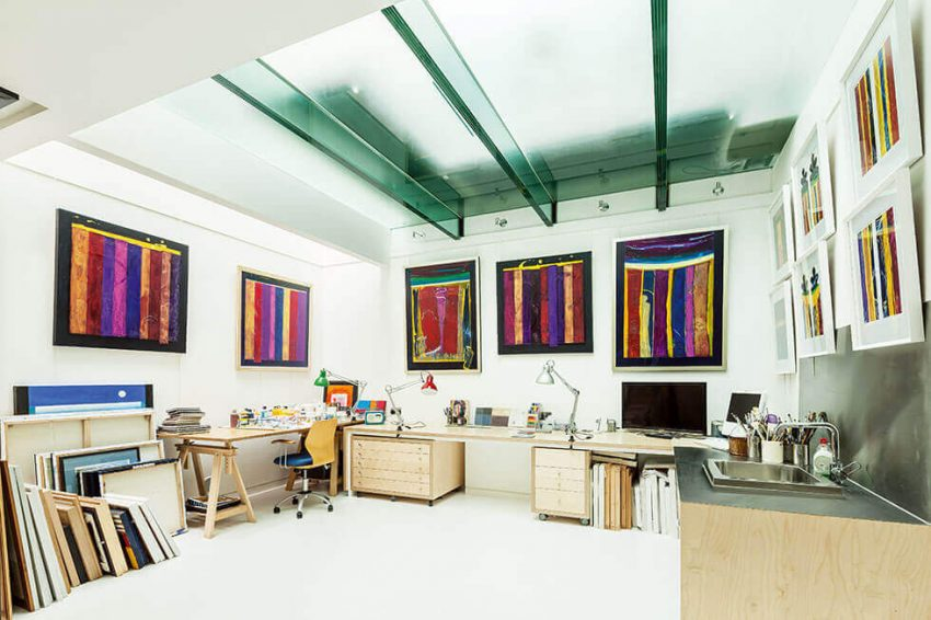 Basement Studio Ideas for Paintings