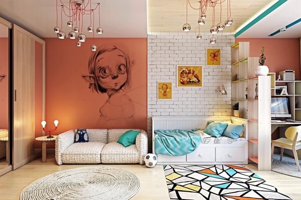 Fairy Mural Wall Ideas