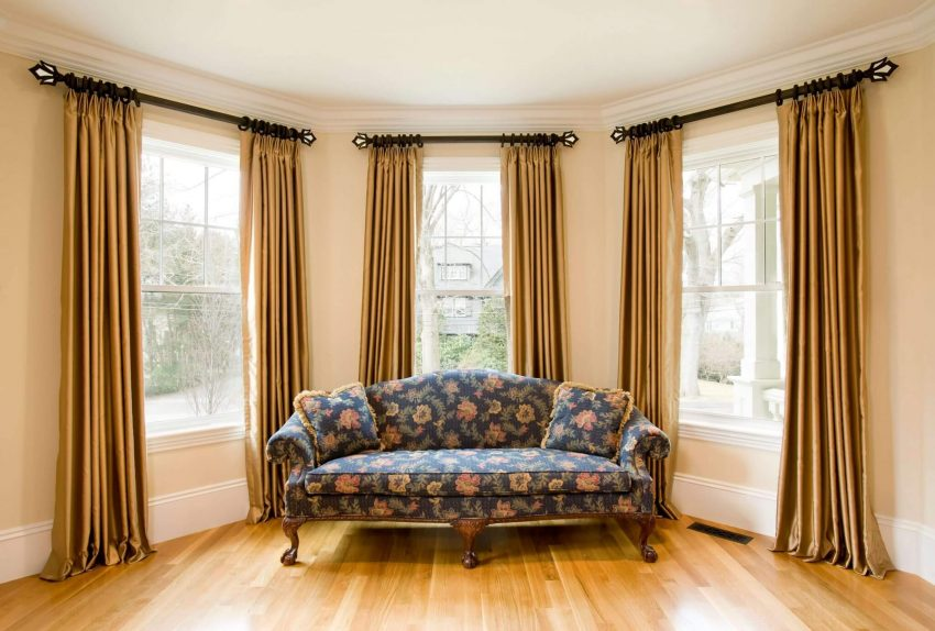 Gold Curtains Living Room Ideas - Harptimes.com