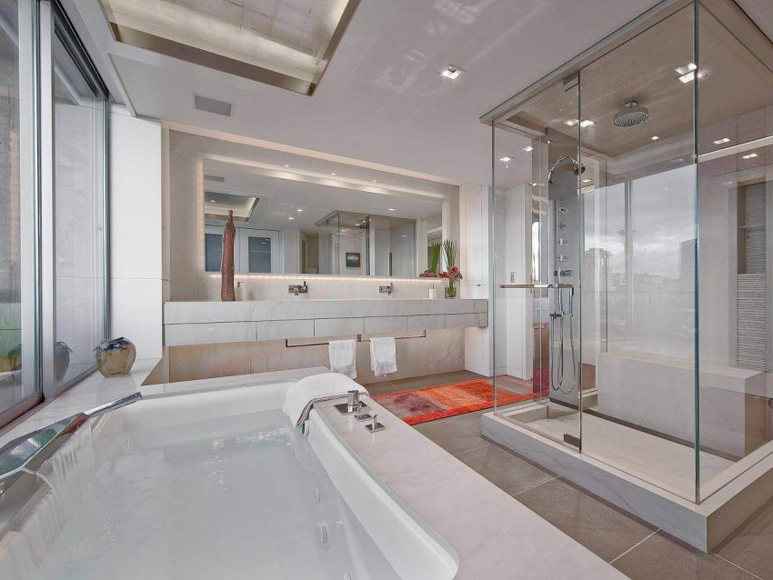 Luxurious Finished Basement Bathroom Ideas Pictures by Harptimes.com