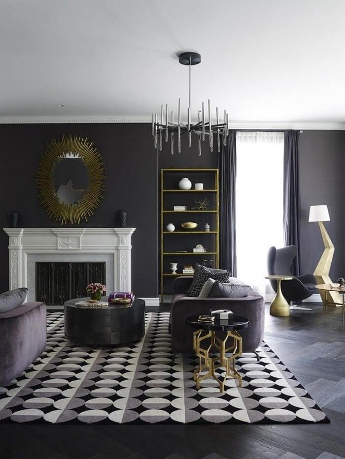 Modern Grey Living Rooms Decor Ideas