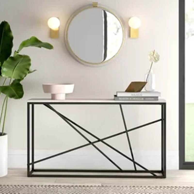 Modern Sofa Table Decor Ideas