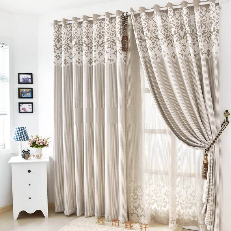 Simple Curtains for Living Room Window Ideas - Harptimes.com