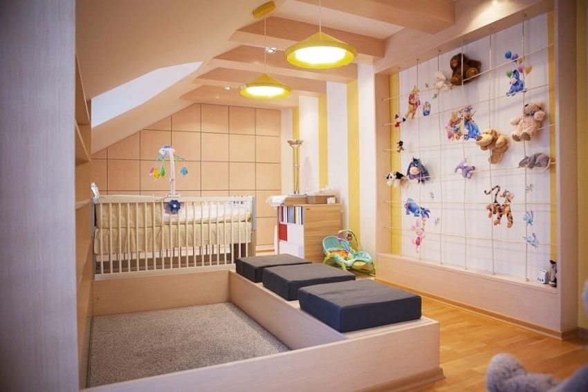 Wall Ideas with Stuffed Animals