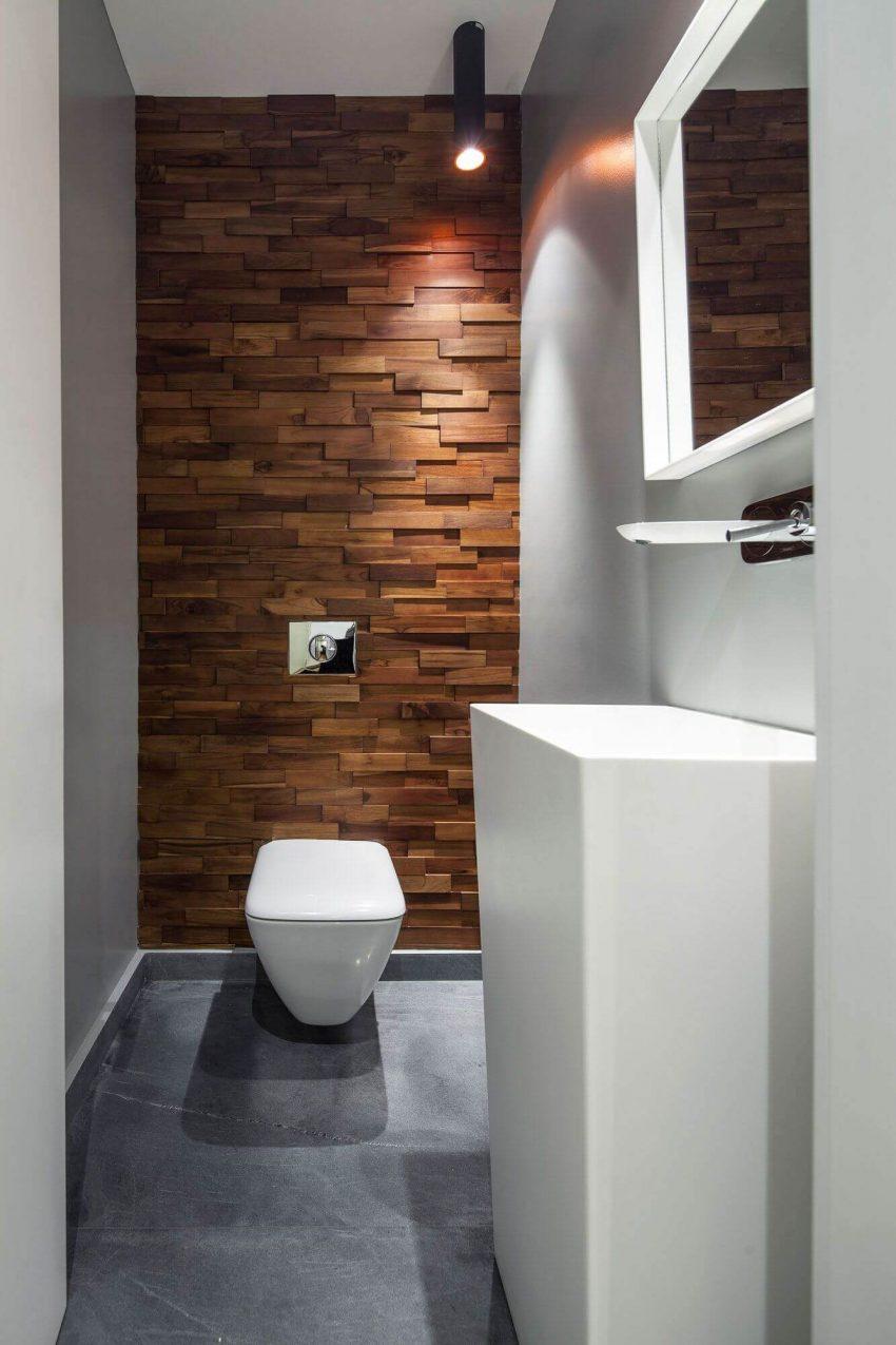 Wood Accent Wall Ideas Bathroom