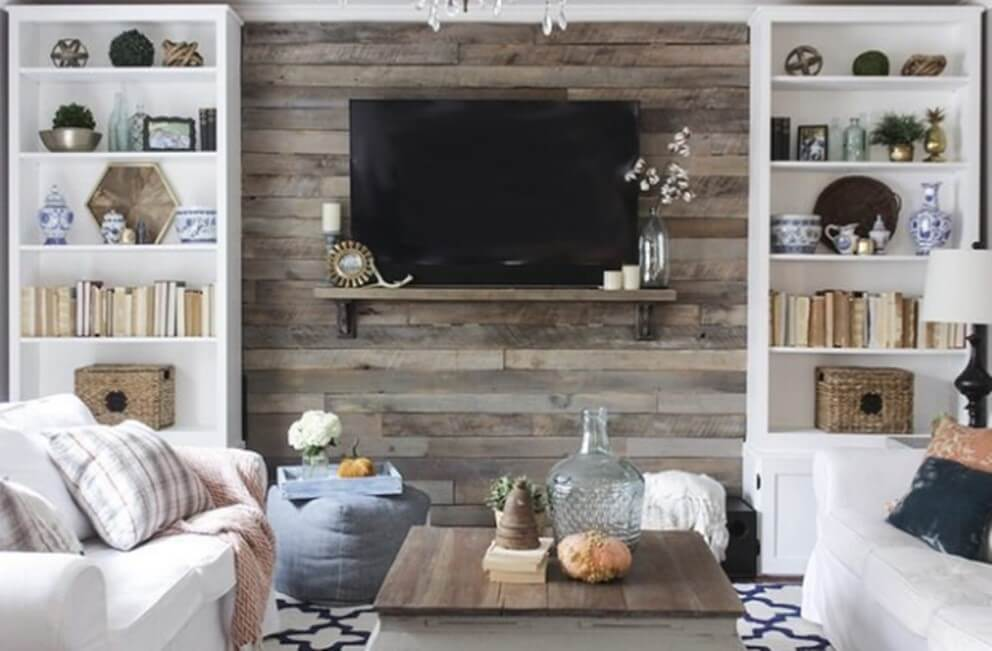 Wood Palette Accent Wall Ideas