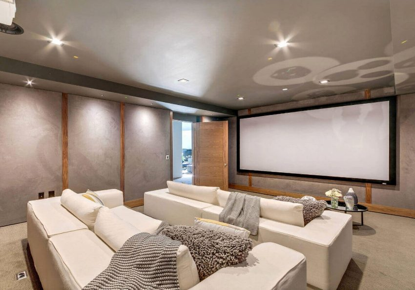 Basement Finishing Ideas for Theater Room