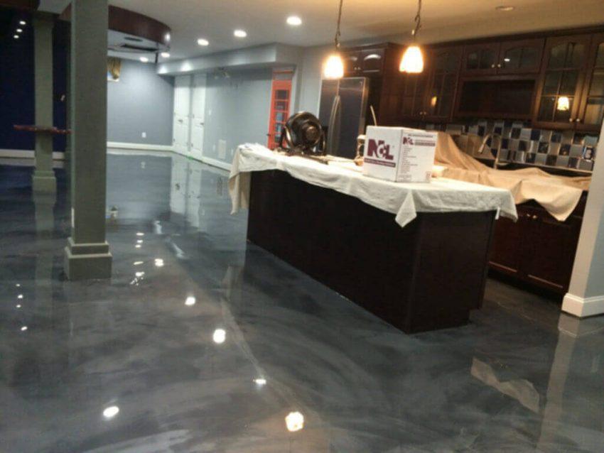Basement Floor Paint Epoxy Ideas