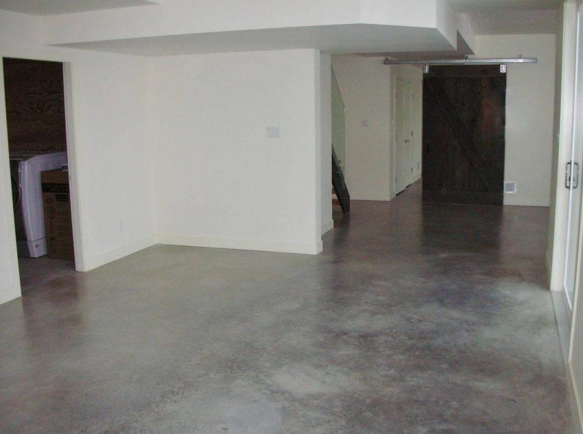 Concrete Flooring for Basement Paint Ideas