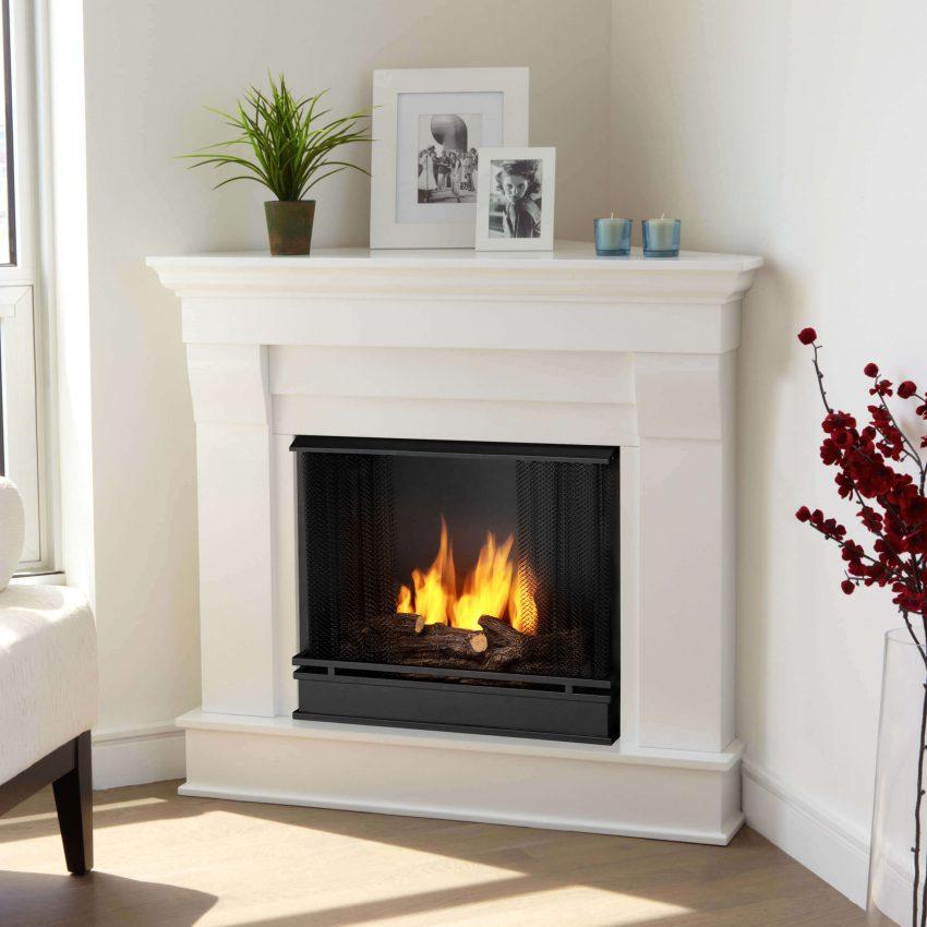 Corner Electric Fireplace Ideas