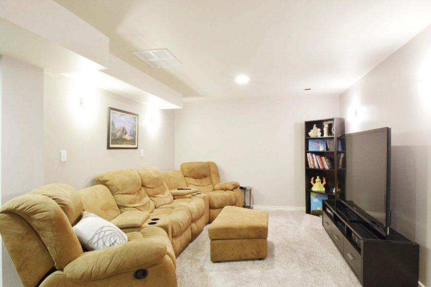 The Second Living Room Basement Finishing Ideas